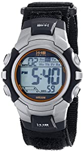 Timex Men's T5K455 1440 Two-Tone Resin Watch with Fast-Wrap Nylon Band