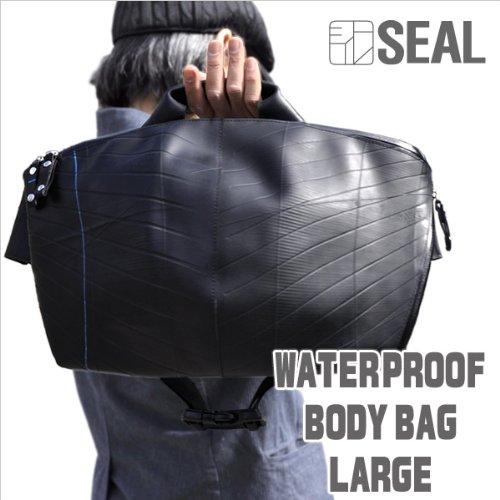 【+SEAL+%2F+シール+】+WATERPROOF+ボディバッグ+Lサイズ+OLCI+コラボモデル (+ショルダーバッグ+ビジネス+カジュアル+廃タイヤチューブ+ワンショルダー+メッセンジャーバッグ+)