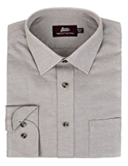 Pure Cotton Twill Poplin Shirt