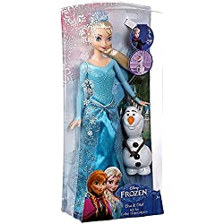 Disney® Frozen Princess Elsa and Olaf Doll Gift Set