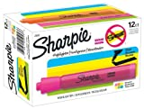 Sharpie Accent Tank-Style Highlighters, 12 Colored Highlighters (25053)