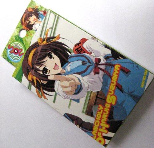 Melancholy of Haruhi Suzumiya Uniform playing card + Pin