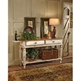 Hillsdale Furniture 4508SB Wilshire Sideboard Table in Antique White,