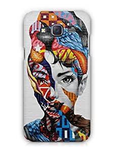 Cover Affair Colorful Girl Printed Back Cover Case for Samsung Tizen Z3