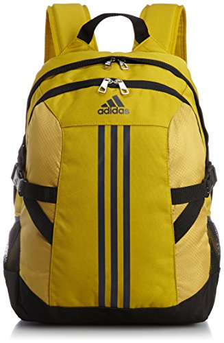 Adidas, Zaino modello Power II, Giallo (Raw Ochre/Dark Grey Heather Solid Grey/Black), Taglia unica