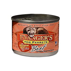 Evangers Beef Can Ferret Food 12 Pack