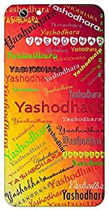 Yashodhara (Wife Of Gautama Buddha) Name & Sign Printed All over customize & Personalized!! Protective back cover for your Smart Phone : Samsung Galaxy Note-4