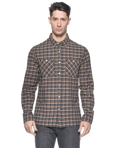 Billabong Camicia Newark [Nero/Mattone]
