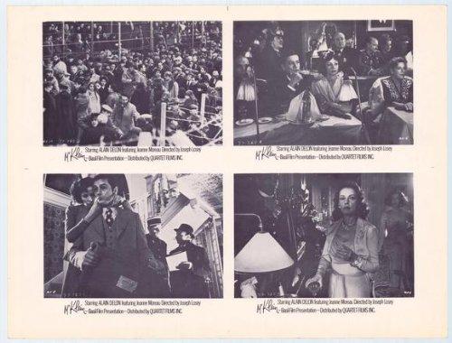 Mr. Klein Poster film 11 x 14 cm, 28 x 36 cm, Alain Delon Jeanne Moreau Suzanne Flon Michael () Michel Lonsdale Juliet Louis Seigner Berto