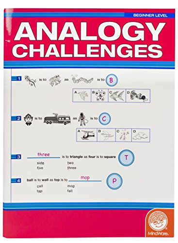 MindWare Analogy Challenges: Beginner Level - 1