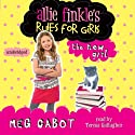 The New Girl: Allie Finkle's Rules for Girls 2 Audiobook by Meg Cabot Narrated by Teresa Gallagher