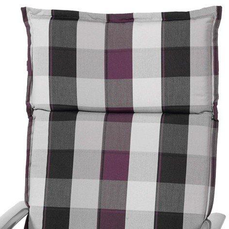 Sun Garden Cannes 10118196 Recliner Cushion Design No. 10358-53 Structured Polyester