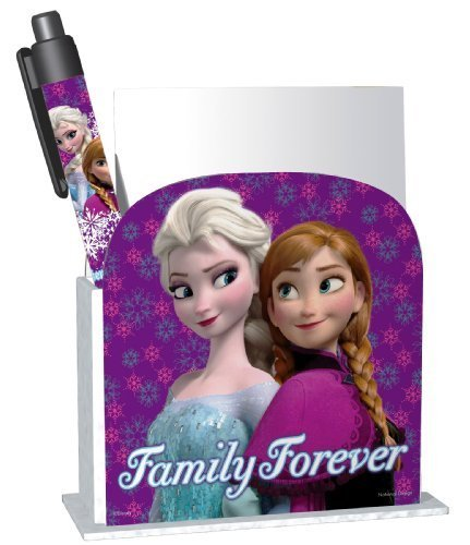National Design Disney Frozen School Desk Caddy Pen & Paper Set