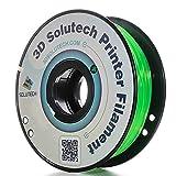 3D Solutech See Through Green 1.75mm Flexible 3D Printer Filament 2.2 LBS (1.0KG) (Color: Green)