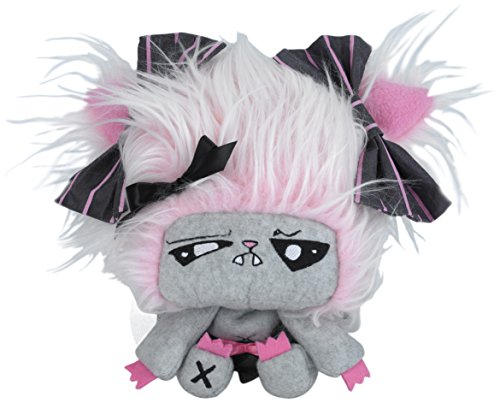 "Vamplets - Werewolf Baby Girl - 9"" Tall Designer Toy Plush Doll - Great Gift For Monster High Fans - Her name is Feraline - Lives in Nightmare Nursery of Gloomvania - By My Little Pony designer G-Ra"