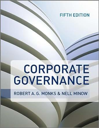 Amazon com corporate governance ebook robert a g monks nell minow
