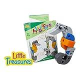 Brick Clicks Sea Horse 33pcs 3 In 1 Unlimited Creativity Fun Sea Friends Educational Play Toys Building Blocks...