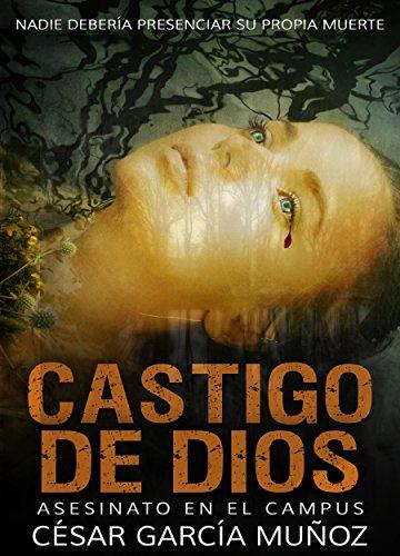 Portada del libro Asesinato en el Campus de César García Muñoz