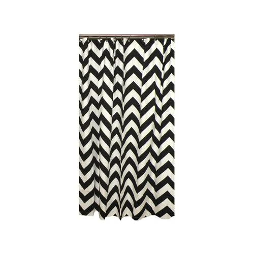 Image Result For Black And White Chevron Curtains