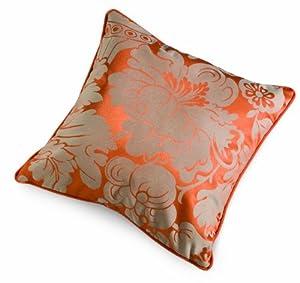 Crypton Super Fabrics Melrose Collection Pillow, Persimmon