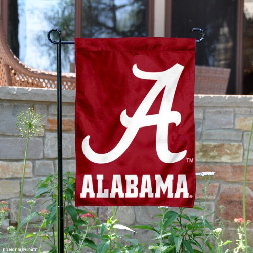 Crimson Tide Garden Flag and Yard Banner