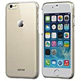 """JOTO iPhone 6 4.7 Clear Case - Slim Thin Fit Hard Case Exclusive for Apple iPhone 6 4.7"""" (Exterior Clear, Interior Matte Finish)"""