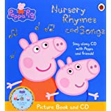 Peppa Pig: Nursery Rhymes and Songs Picture Book and CDby Ladybird