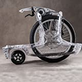 GausWheel (ガウスホイール) SPIRIT STAGE5 with brake 【ブレーキ付き / Skeleton】