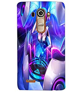 LG G4 GIRL Back Cover by PRINTSWAG
