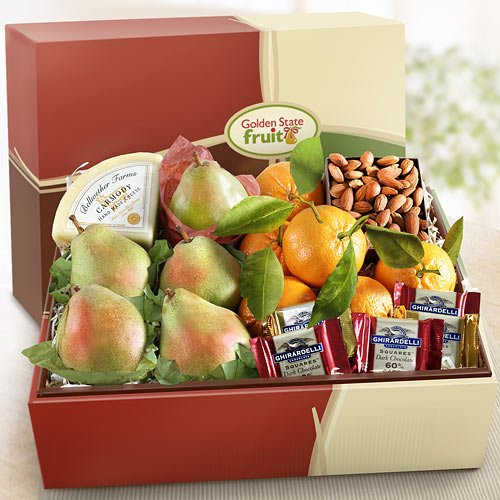 Tastes of California Fruit Gift Box
