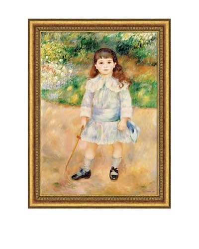 Pierre-Auguste Renoir Boy with a Whip, 1885 Framed Canvas, 28 x 20 As You See