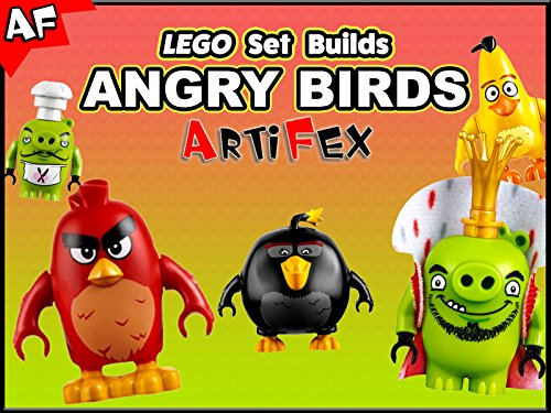Clip: Lego Set Builds Angry Birds - Season 1