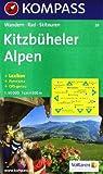 Kitzbüheler Alpen: Wandern / Rad / Skitouren. Mit Panorama. GPS-genau. 1:50.000