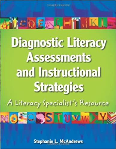 diagnostic literacy assessments and instructional strategies book cover