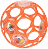 Rhinotoys 81031 Oball Rattle (colors may vary)