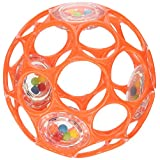 Oball 4-inch Infant  Rattle (Colors May Vary) ~ Oball