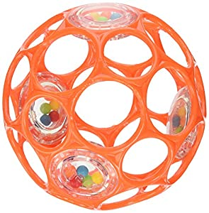 Oball 4-inch Infant  Rattle (Colors May Vary)