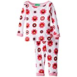 Sesame Street Baby Girls' Happy Flowers 2 Piece Pajama Set