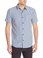 Columbia Camisa Hombre Endless Trail Ii (Azul Claro)