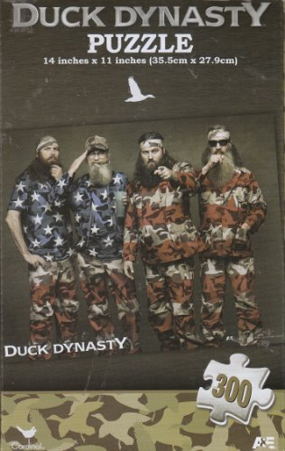 Duck Dynasty Flag 300 Piece Puzzle - 1