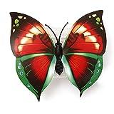Veilleuse - SODIAL(R)LED Papillon 7 Changement de Couleurs avec Ventouse Guirlande Lumineuses pour Decoration de Mariage / Noel / Fete / Soiree / Anniversaire / Maison...