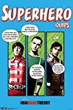 The Big Bang Theory Poster Superhero Quips Dr.Dr.