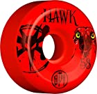 Bones Wheels Tony Hawk Skatepark Formula Eye Red Skateboard Wheels - 58mm 84b (Set of 4)