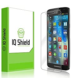 IQ Shield LiQuidSkin - Motorola Moto X Play Screen Protector & Warranty Replacements - HD Ultra Clear Film - Protective Guard - Extremely Smooth / Self-Healing / Bubble-Free Shield