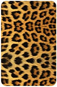 Cheetah Pattern White Back Cover Case for Amazon Kindle Fire 7