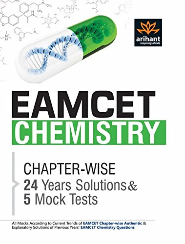 EAMCET Chemistry Chapterwise 24 Years' Solutions and 5 Mock Tests Image