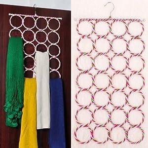28 Circles Scarf Holder Color Varies