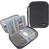 Damero USB Flash Drive Bag for SD Cards, Power Banks, Memory Cards/ Waterproof External Hard Drive Case, Black