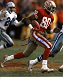 Jerry Rice Autographed / Signed vs Cowboys San Francisco 49ers 8×10 Photo