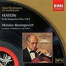 Haydn : Concertos pour violoncelle n� 1 et n� 2